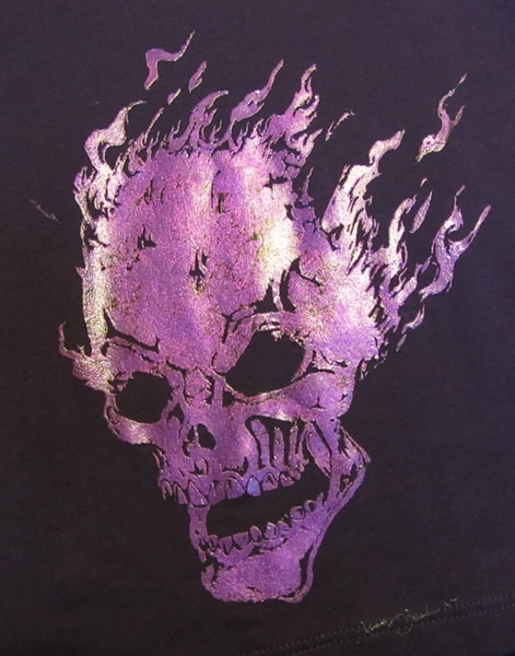 foil skull