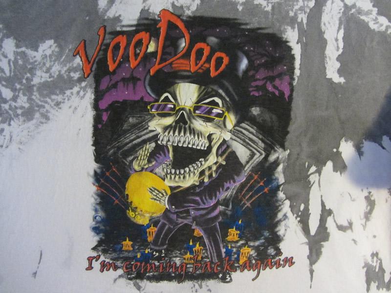 voo doo skull